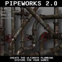 3d model of pipeworks 2 0
