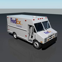 s fedex delivery truck