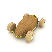 maya wooden toy car