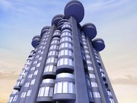 3d 3ds city design building