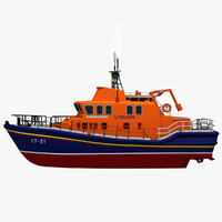 severn class lifeboat model
