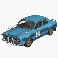race car 3d model