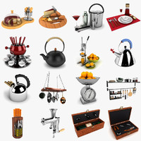 3d cheese kitchen kit