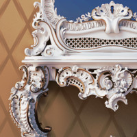 free max model classic baroque mirror table