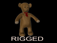 c4d teddy bear