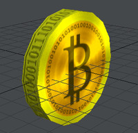 BitCoin Low Poly