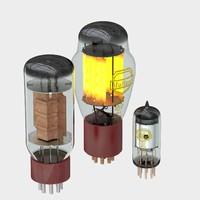vacuum tube 3d c4d