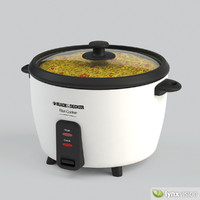 black decker rice cooker 3d max