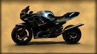 3ds max motor cycle