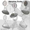 hanging scale 3D models