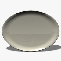 oval plate dxf