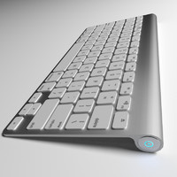 keyboard blender cycles 3d model