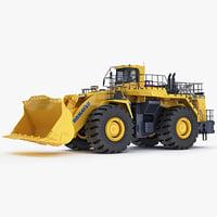 Mining loader Komatsu WA1200