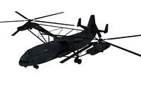 mil v-12 mi-12 3d model