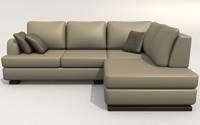 sofa monte-carlo 3d obj