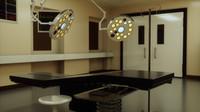 room medical cabinets 3d model