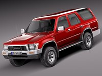 japan 1989 toyota suv 3d 3ds