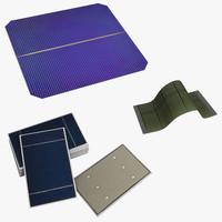 solar cells 3d max