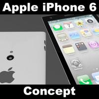 iphone 6 concept 3d model