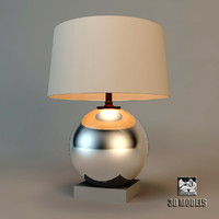 3d mercurial table lamp model