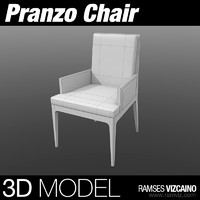 pranzo chair 3d model