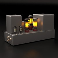 c4d vacuum tube amplifier