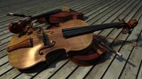 free obj model violin