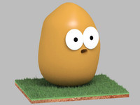 3d character toon