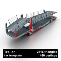rolfo car transporter 3d model