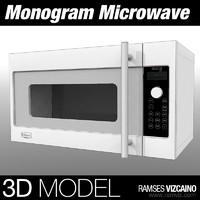 3d monogram microwave