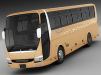 3d mitsubishi aero queen model