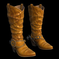 western boots 3d 3ds