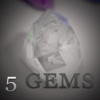 3d gems diamond ruby