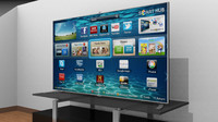 samsung f8000 smart tv 3d model