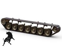 track leopard 2 3d max