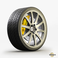 max tire alloy wheel