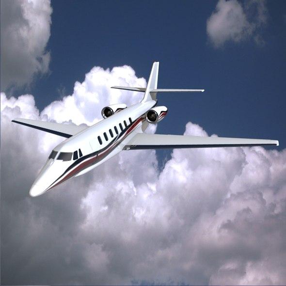 Cessna Citation Sovereign private jet