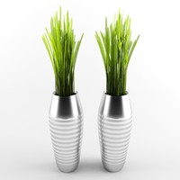 3d grass model