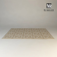 fendi carpet 3d model