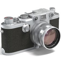 leica iiif cameras 3d model
