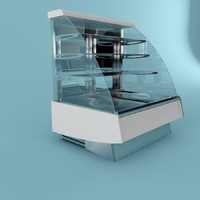 3d model of showcase