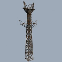 maya cableway mast