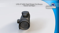 UTG 4 MOA Red Green Dot Scope