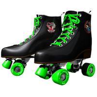 retro roller skates 3d model