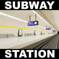 3d subway station