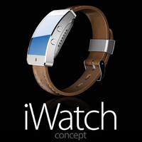 3d iwatch concept model