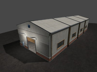 warehouse unity 3d model