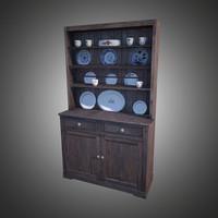 old dresser 3d fbx