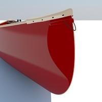 3d model canoe 2011