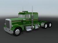 3d 359 semi truck model